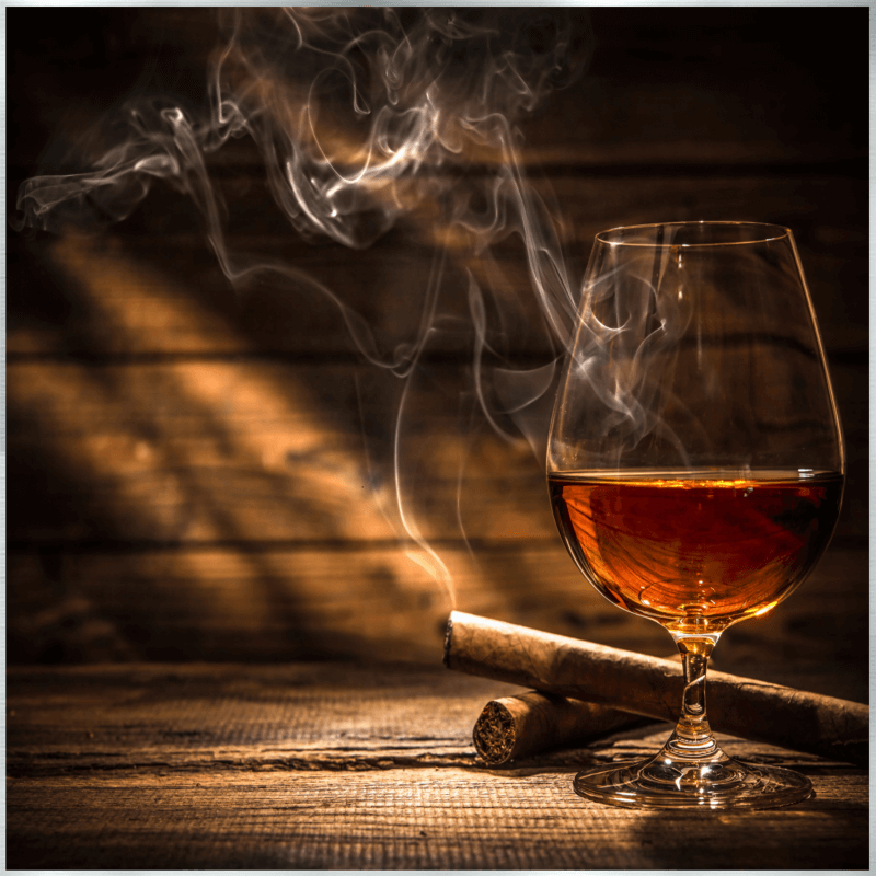 Whisky / Zigarren Motiv - 004