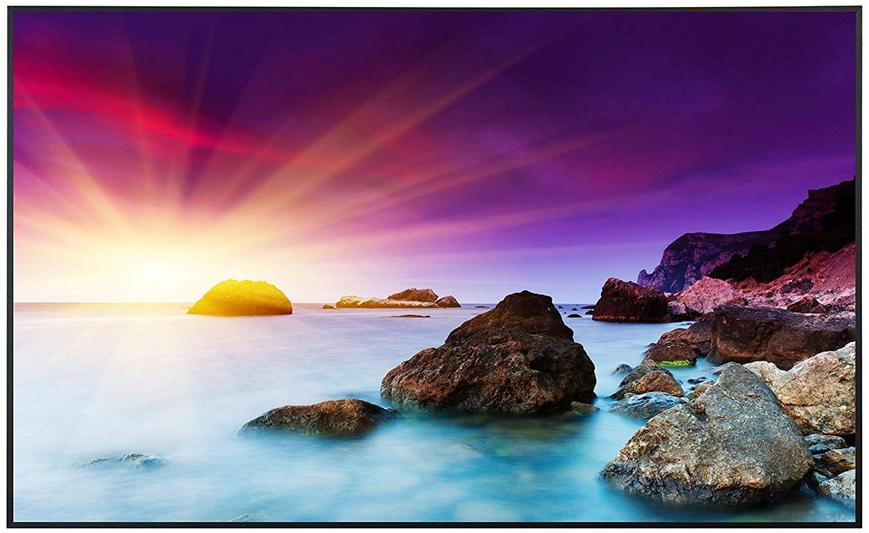 Ecowelle Infrarotheizung mit Motiv Sonnenuntergang 10