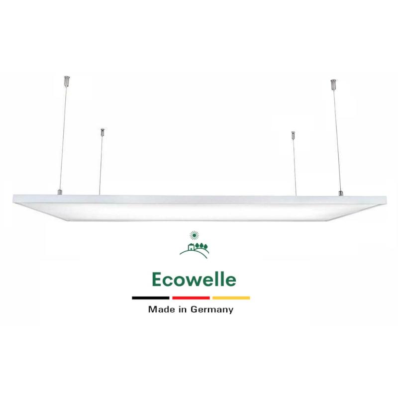 Seilset Deckenmontage für Ecowelle Heizungen