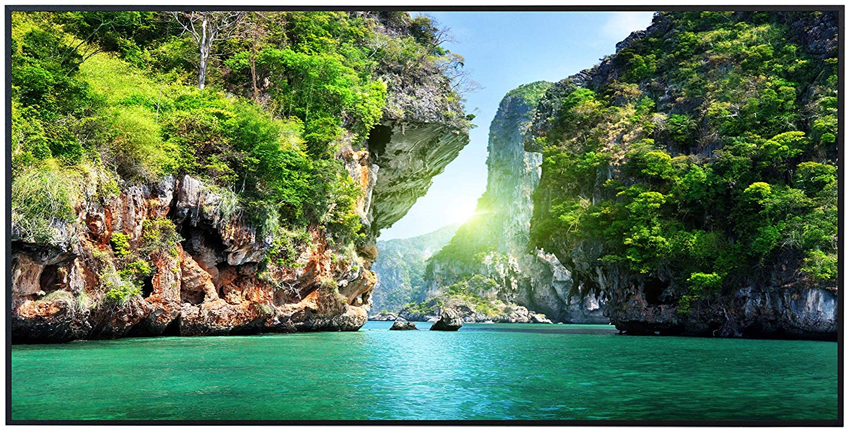 Ecowelle Infrarotheizung mit Motiv Bucht in Thailand 07