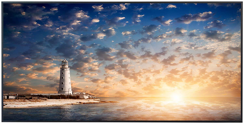 Ecowelle Infrarotheizung mit Motiv Leuchtturm 16