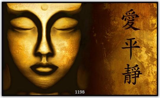 Goldener Buddha 119