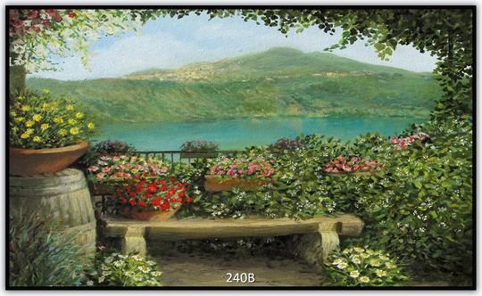Könighaus Infrarotheizung mit Motiv Gemälde 240