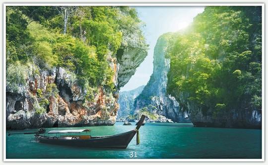 Könighaus Infrarotheizung mit Motiv Krabi Thailand 31