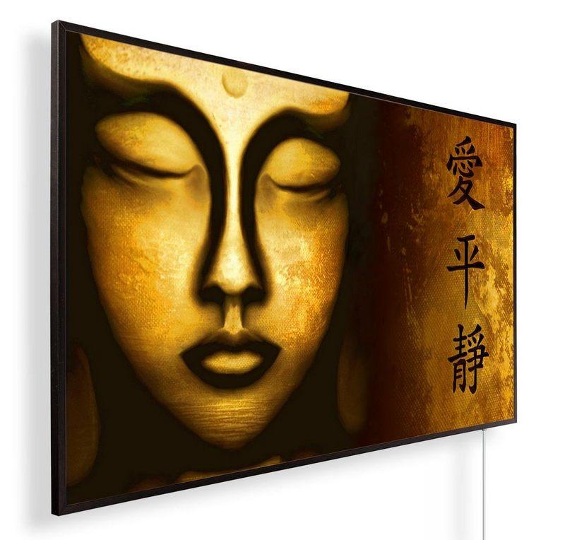 Könighaus Infrarotheizung mit Motiv Goldener Buddha 119