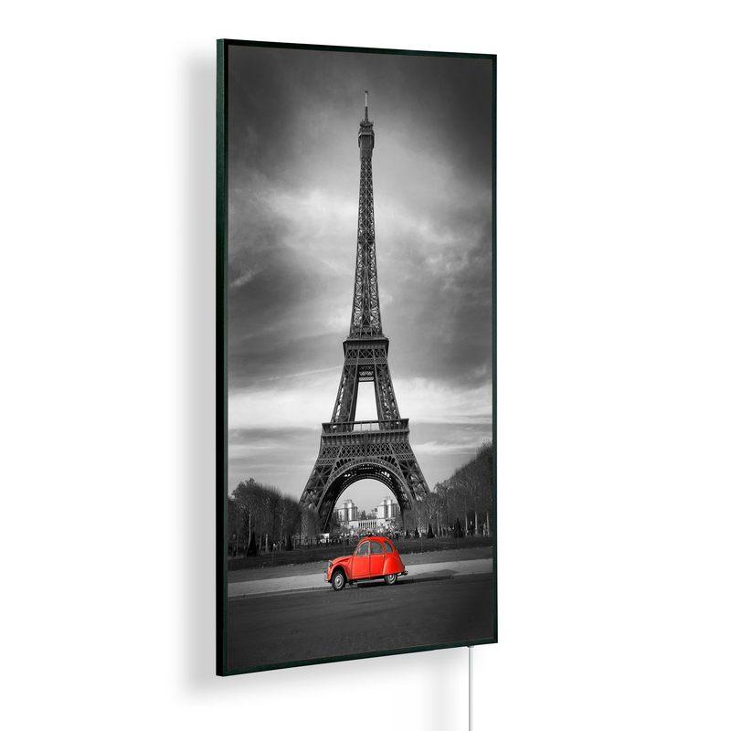 Könighaus Infrarotheizung mit Motiv Eiffelturm Paris 159