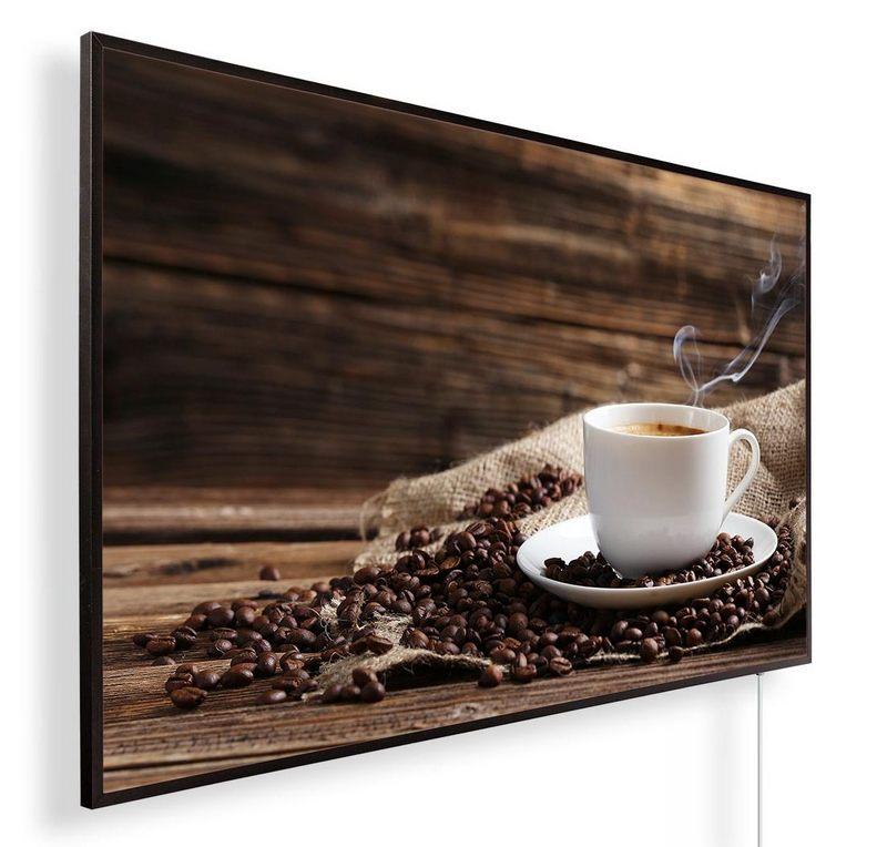 Könighaus Infrarotheizung mit Motiv Kaffee 168