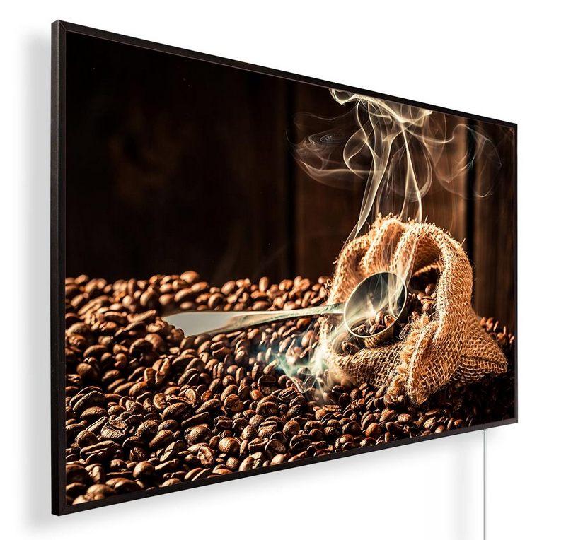 Könighaus Infrarotheizung mit Motiv Kaffeebohnen 169