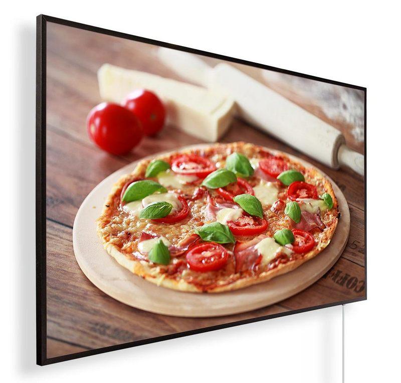 Könighaus Infrarotheizung mit Motiv Pizza 173