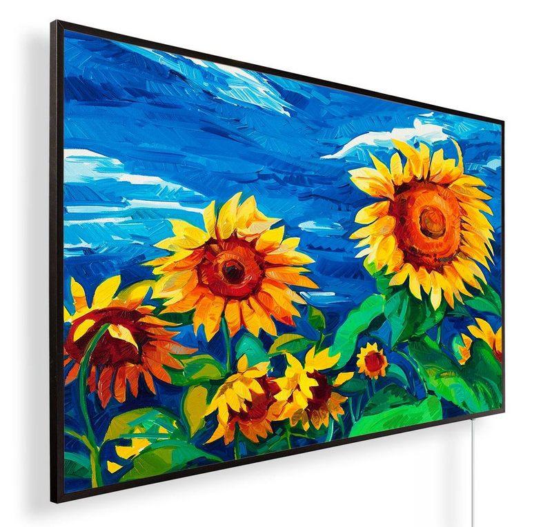 Könighaus Infrarotheizung mit Motiv Sonnenblumen 188