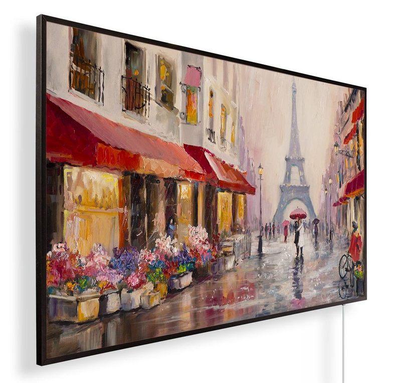 Könighaus Infrarotheizung mit Motiv Gemälde Paris 236