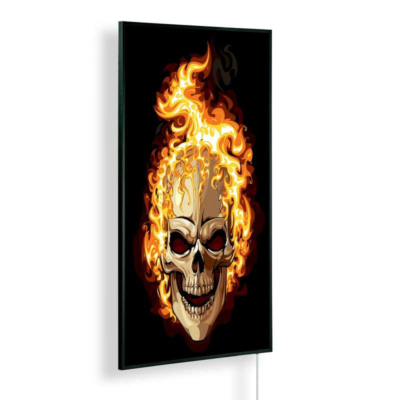 Könighaus Infrarotheizung mit Motiv Ghost Rider 242
