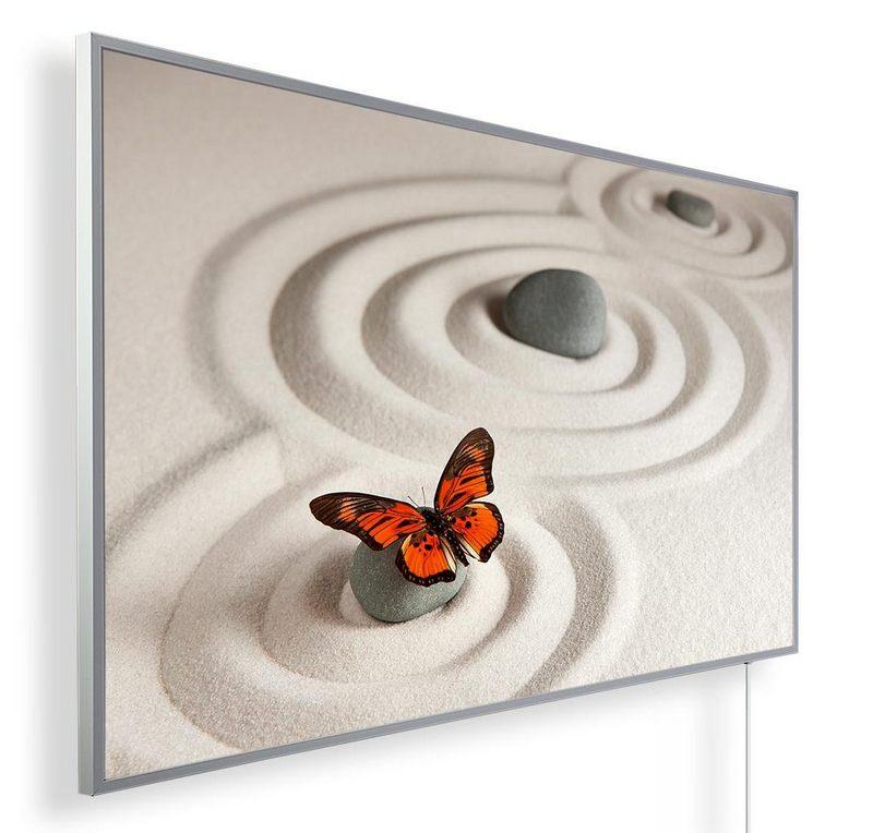 Könighaus Infrarotheizung mit Motiv Schmetterling 112