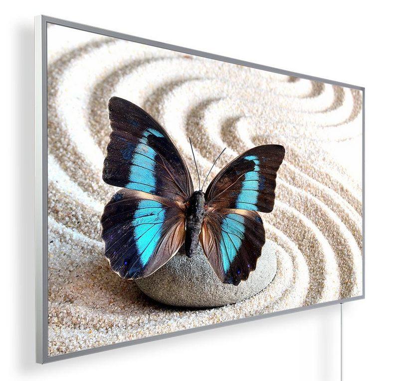 Könighaus Infrarotheizung mit Motiv Schmetterling 116