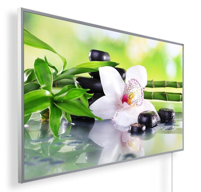 Könighaus Infrarotheizung mit Motiv Orchidee 130