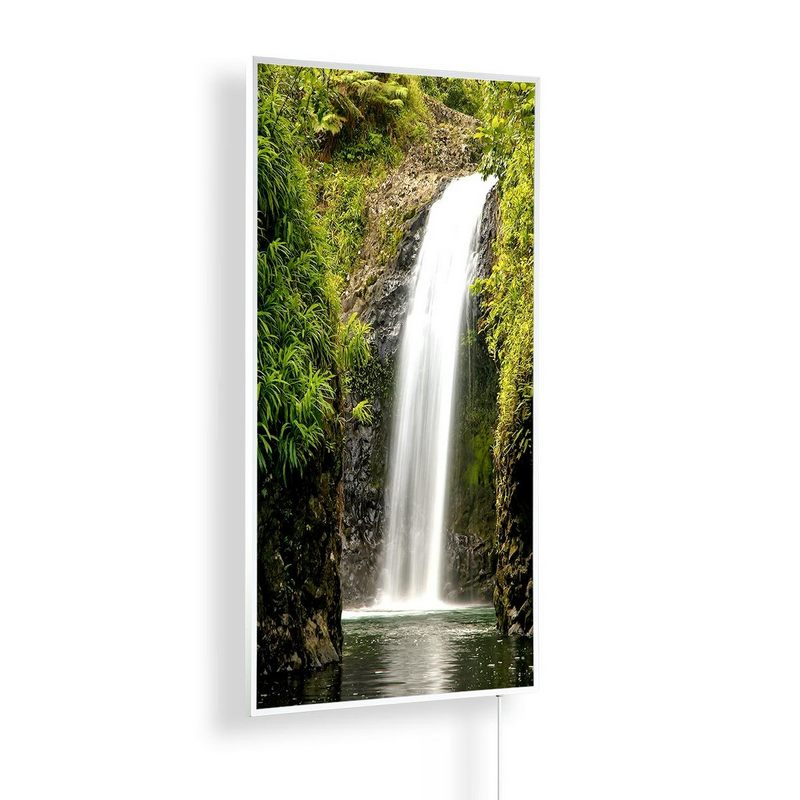 Könighaus Infrarotheizung mit Motiv Wasserfall 14