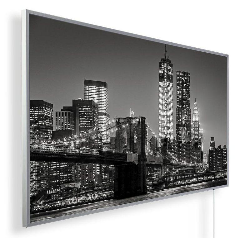 Könighaus Infrarotheizung mit Motiv Manhattan Bridge 155