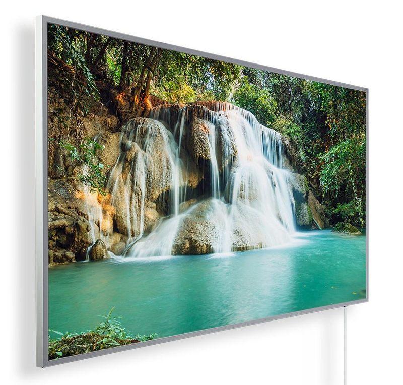 Könighaus Infrarotheizung mit Motiv Wasserfall 16
