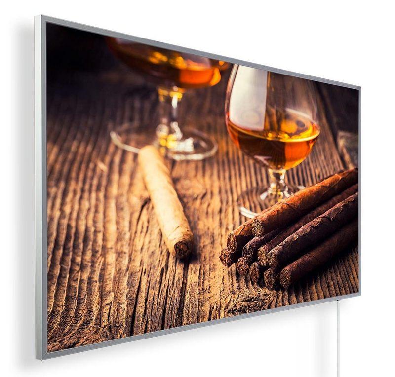 Könighaus Infrarotheizung mit Motiv Zigarren 164