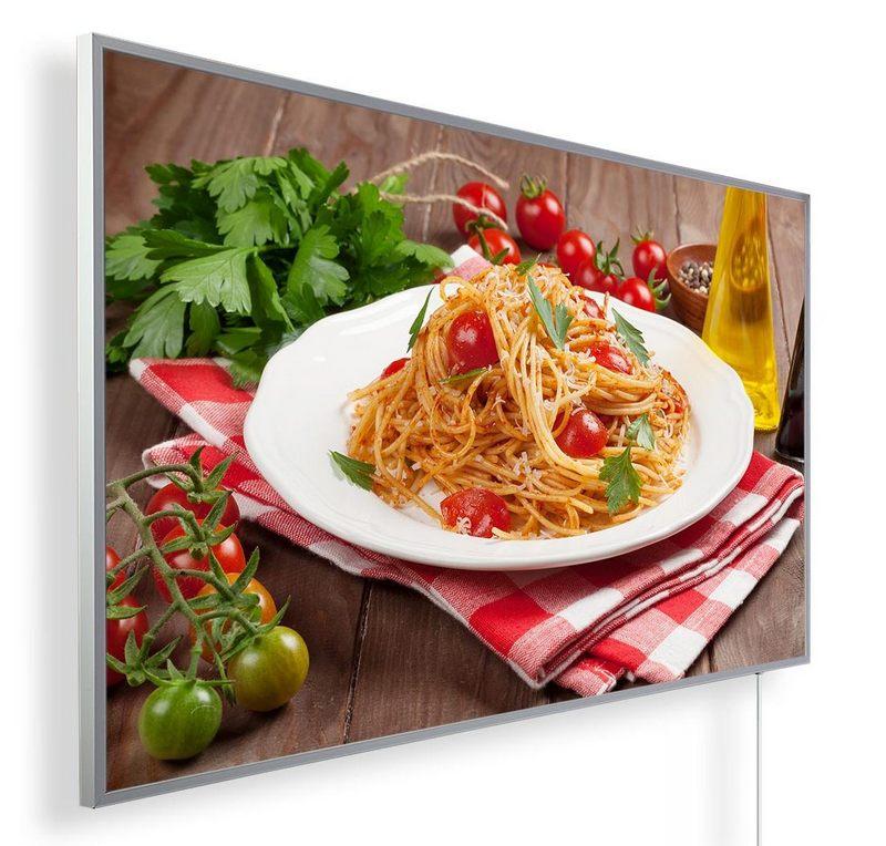 Könighaus Infrarotheizung mit Motiv Spaghetti 175
