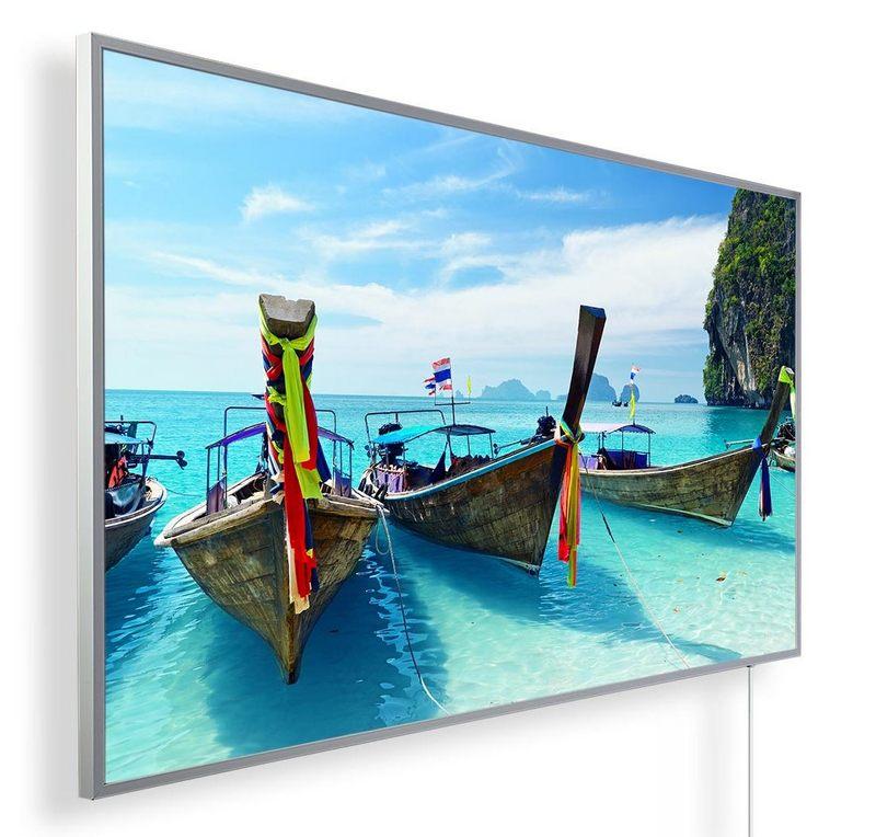 Könighaus Infrarotheizung mit Motiv Thailand Boote 37