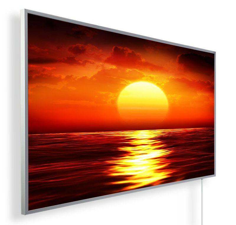 Könighaus Infrarotheizung mit Motiv Sonnenuntergang 46
