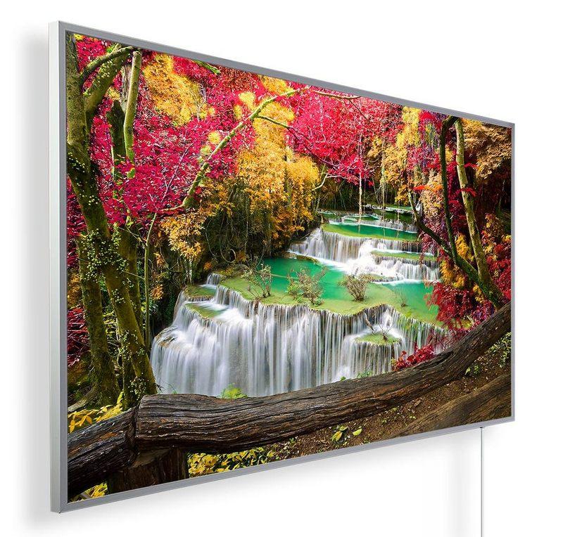 Könighaus Infrarotheizung mit Motiv Wasserfall 9
